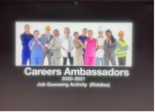 Through collective wisdom, a riddle game was designed by career ambassadors.