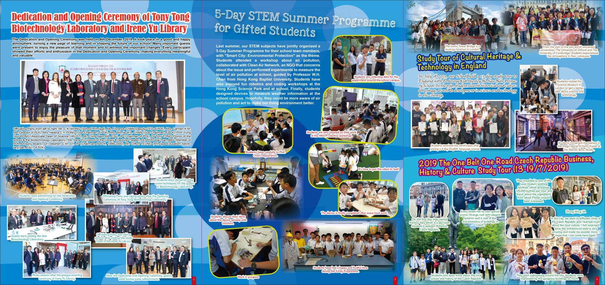 2019-2020 School Newsletter P2