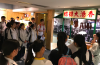 Students have never seen the old traditional food stalls like the one in the museum.